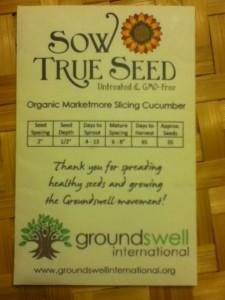 Free non-GMO seeds