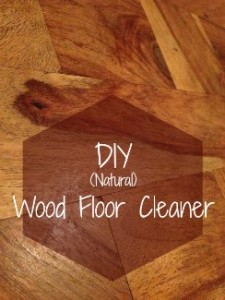 Natural Diy Wood Floor Cleaner Pint Size Farm