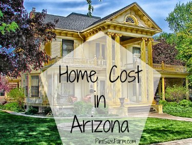 what is the average cost to build a home in arizona 2014