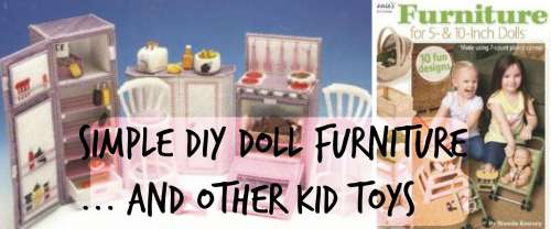 Make your Own Barbie and Doll Furniture  DIY Christmas  Pint