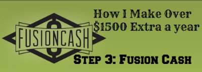 Step by step program so you can make extra money this year! Step 3: Fusion Cash. Homesteading on a Dime Challenge 2015 found at PintSizeFarm.com