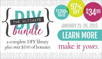 Get the DIY book bundle - one week only!