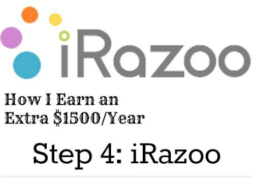 How I earn an extra $1500/year. Step 4: iRazoo. It's simple, you can do it to! Found at www.PintSizeFarm.com