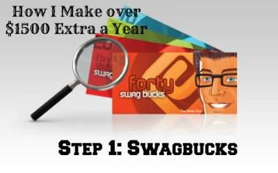 Step 1: Swagbucks. Homesteading on a Dime Challenge 2015 found at PintSizeFarm.com