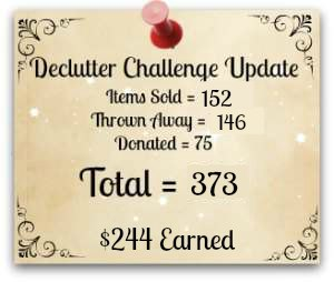 how to declutter your home challenge