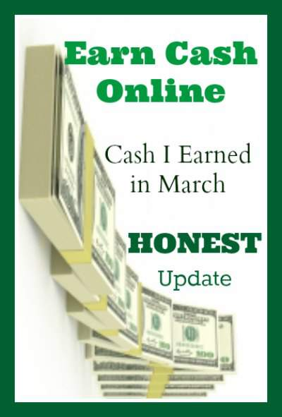 Earn online cash  - EXACTLY how much I made last month (and how) at PintSizeFarm.com