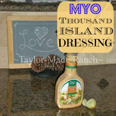 How to Make Thousand Island Dressing. Hop Feature found at www.PintSizeFarm.com