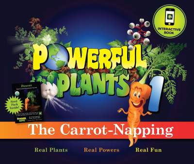 "Powerful Plants review. They strive to ""edutain"" children. Plus, enter a giveaway at www.PintSizeFarm.com"